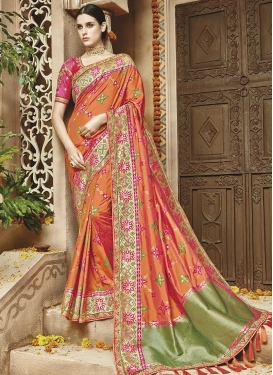 Banarasi Silk Trendy Classic Saree For Bridal