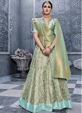 Banarasi Silk Trendy Lehenga