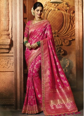 Banarasi Silk Trendy Saree For Bridal