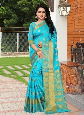 Banarasi Silk Trendy Saree For Casual