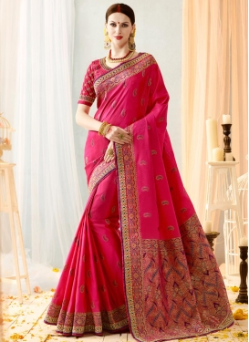 Banarasi Silk Trendy Saree For Festival