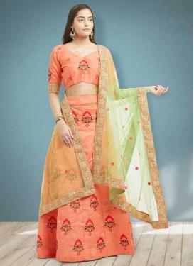 Banglori Silk A Line Lehenga Choli