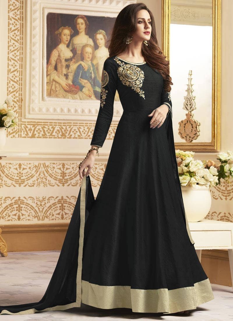 Banglori Silk Anarkali Salwar Kameez For Ceremonial
