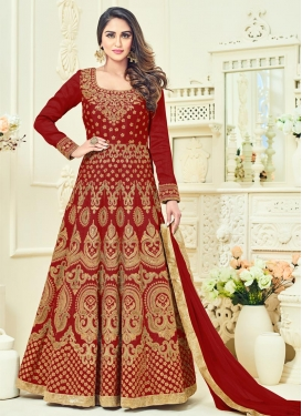 Banglori Silk Floor Length Anarkali Suit