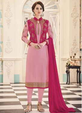 Banglori Silk Jacket Style Salwar Kameez
