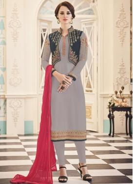 Banglori Silk Jacket Style Salwar Suit