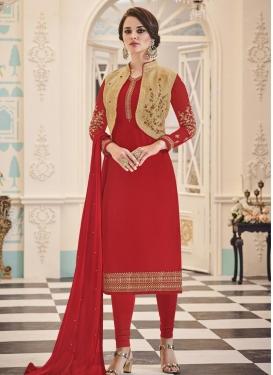 Banglori Silk Jacket Style Suit
