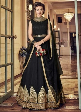 Banglori Silk Long Length Anarkali Salwar Suit