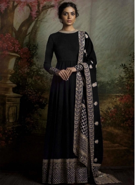 Banglori Silk Long Length Anarkali Salwar Suit For Ceremonial