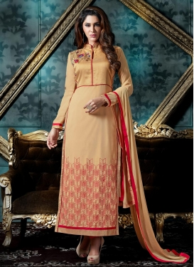 Banglori Silk Long Length Pakistani Suit For Festival