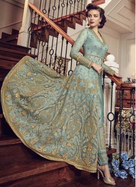 Banglori Silk Pant Style Designer Salwar Kameez
