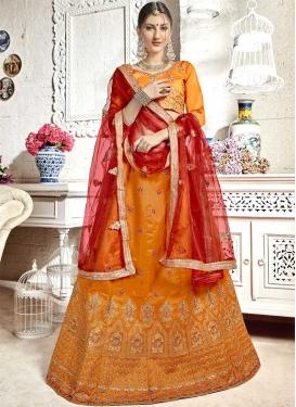 Banglori Silk Trendy A Line Lehenga Choli