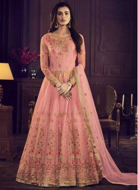 Banglori Silk Trendy Anarkali Salwar Kameez