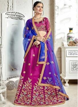 Banglori Silk Trendy Lehenga Choli
