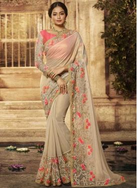 Beads Work Art Silk Designer Traditional Saree