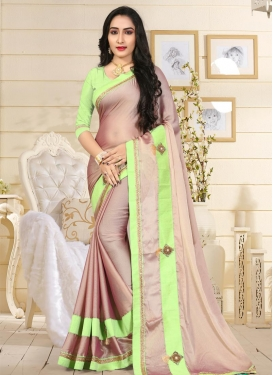 Beads Work Classic Saree For Ceremonial