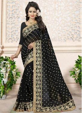 Beads Work Designer Classic Saree