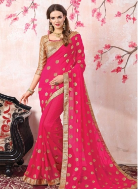 Beads Work Designer Contemporary Saree