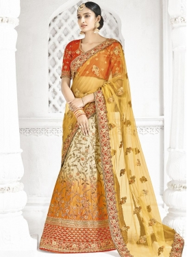 Beads Work  Trendy Lehenga