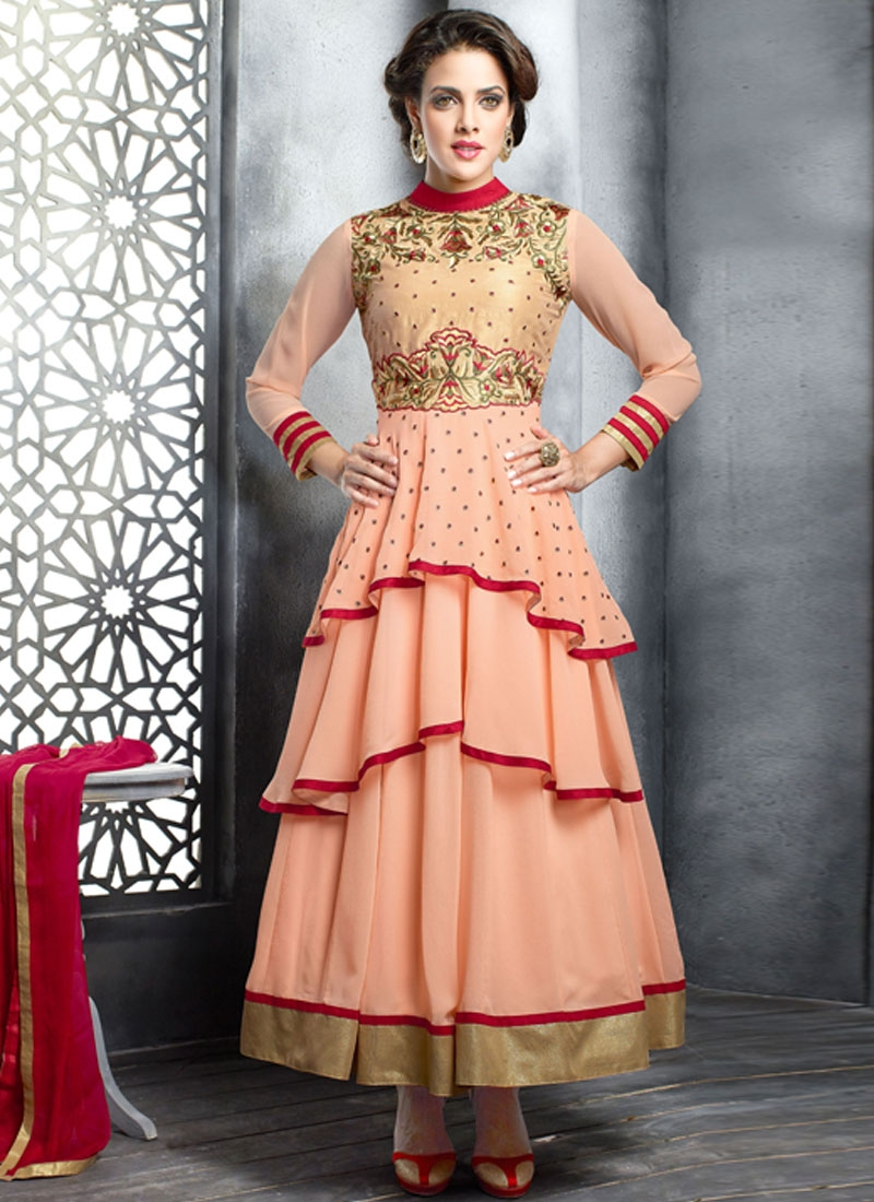Beauteous Resham Work Designer Salwar Suit