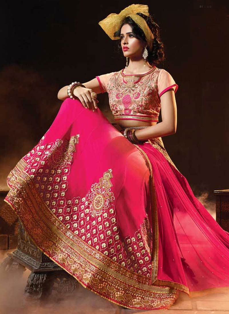 Beauteous Viscose Stone Work Bridal Lehenga Choli