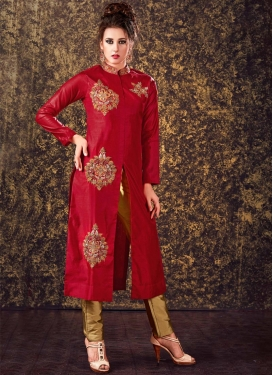 Beautiful Booti Work Readymade Salwar Suit