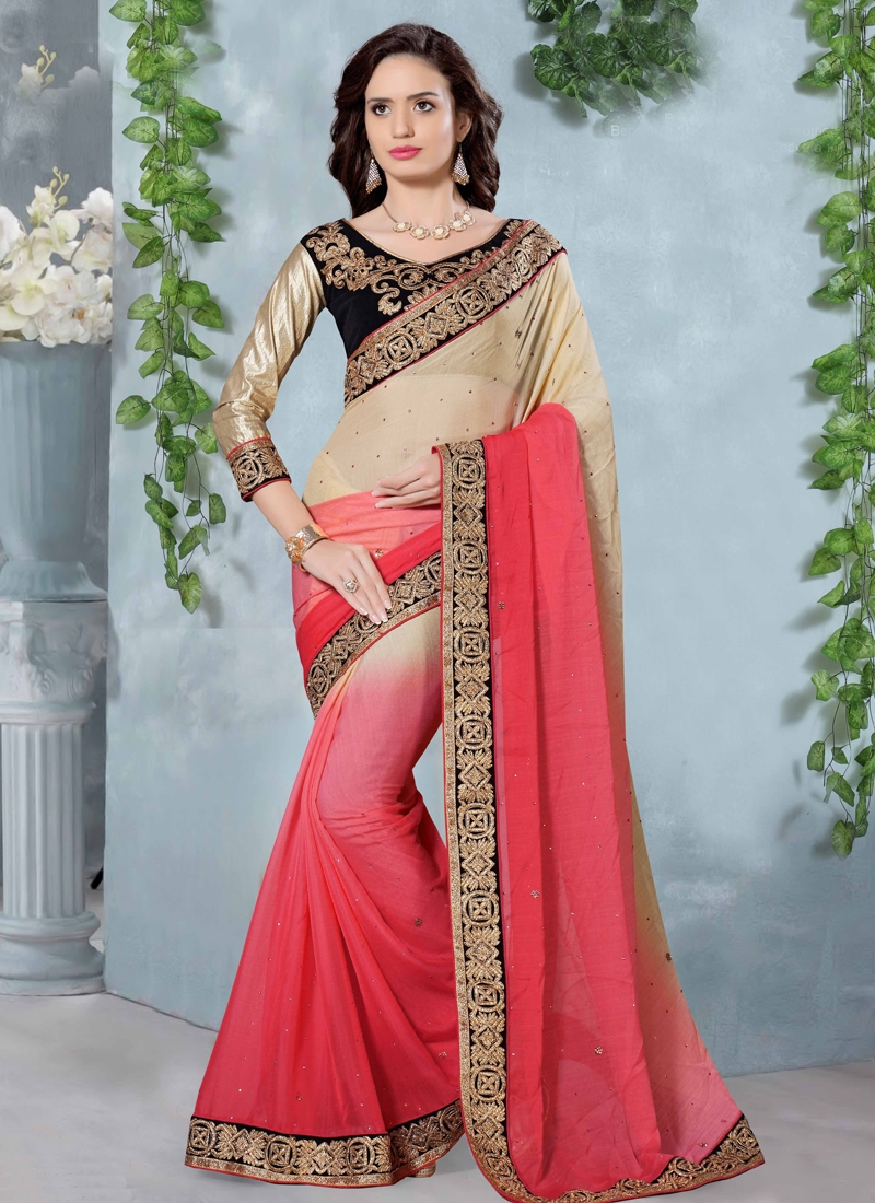Bewitching Pure Georgette Party Wear Saree