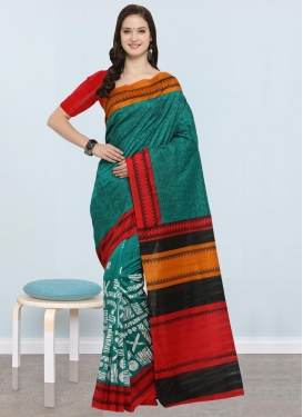Bhagalpuri Silk Contemporary Saree