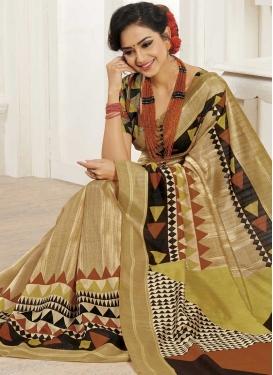 Bhagalpuri Silk Contemporary Saree