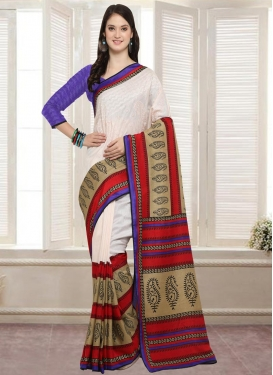 Bhagalpuri Silk Contemporary Style Saree
