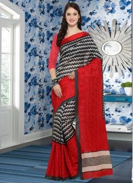 Bhagalpuri Silk Embroidered Work Trendy Classic Saree