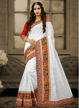 Bhagalpuri Silk Traditional Saree