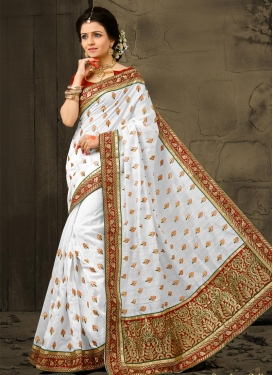 Bhagalpuri Silk Traditional Saree For Ceremonial
