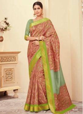 Bhagalpuri Silk Trendy Saree