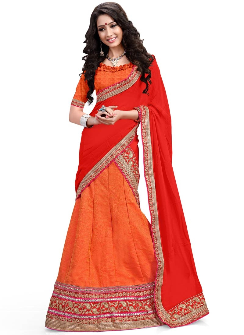 Blooming Jacquard Silk Designer Lehenga Choli