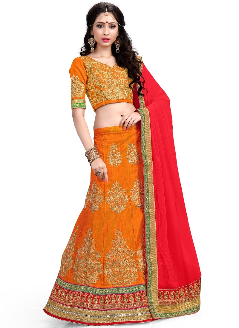 Blooming Stone And Resham Work Wedding Lehenga Choli