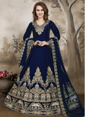 Booti Work Anarkali Salwar Kameez For Ceremonial