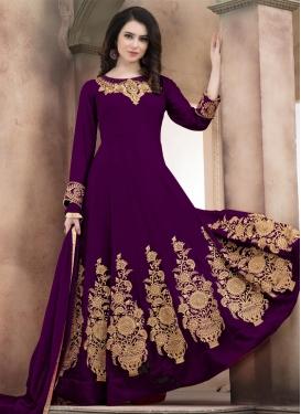 Booti Work Anarkali Salwar Suit