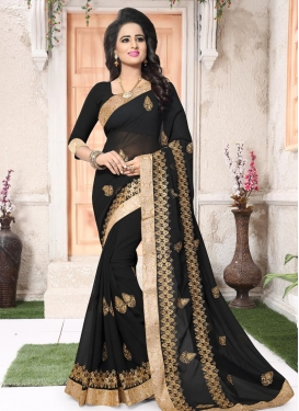 Booti Work Designer Contemporary Style Saree For Ceremonial