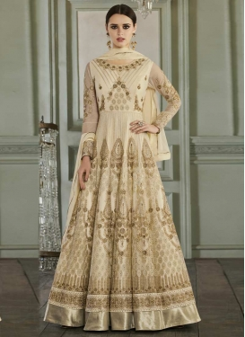 Booti Work Floor Length Anarkali Suit For Ceremonial