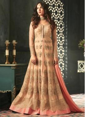 Booti Work Floor Length Salwar Suit