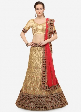 Booti Work Lehenga Choli For Ceremonial