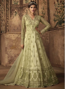 Booti Work Long Length Anarkali Suit