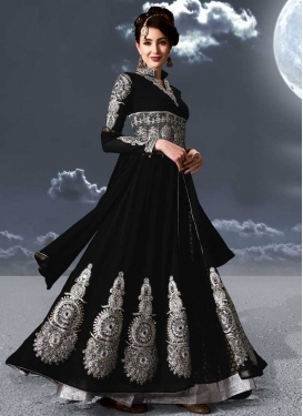 Booti Work Long Length Designer Suit