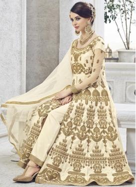 Booti Work Pant Style Designer Salwar Kameez