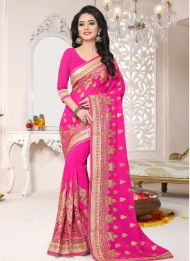 Booti Work Traditional Saree