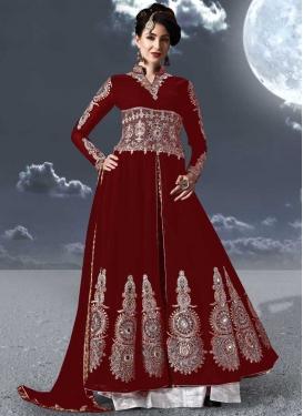Booti Work Trendy Designer Salwar Kameez