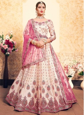Booti Work Trendy Lehenga Choli
