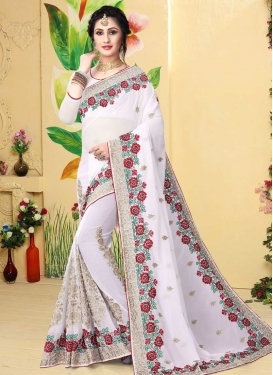 Booti Work Trendy Saree