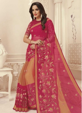 Brasso Georgette Classic Saree For Ceremonial